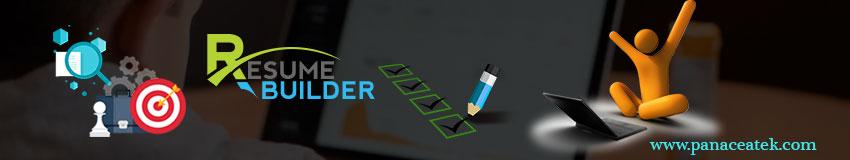 Resume Builder | Panacea Infotech
