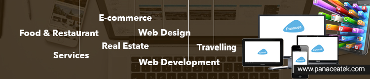 web development services for different industiries
