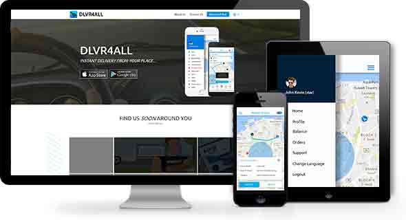 dlvr4all - Instant delivery at any place