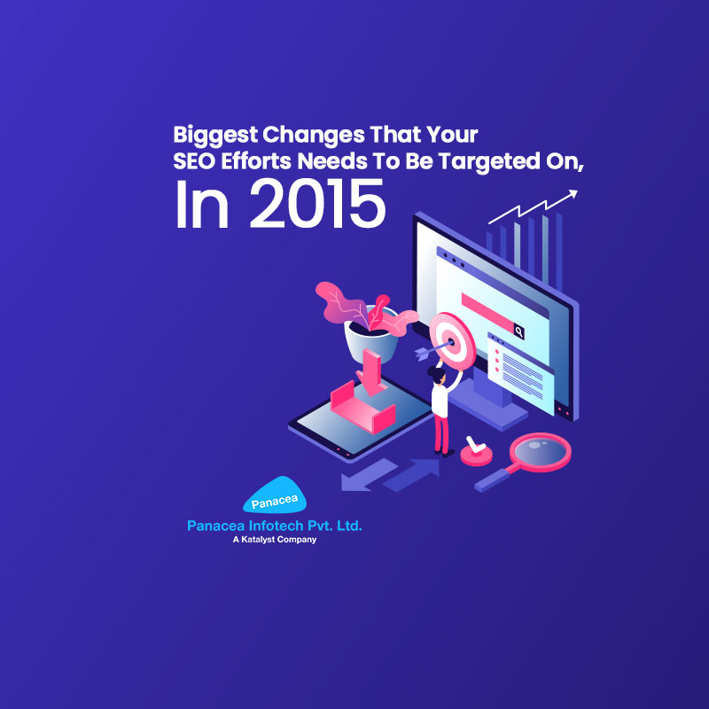 Biggest Changes That Your SEO Efforts Needs To Be Targeted On, In 2015