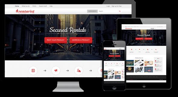 Rent Website