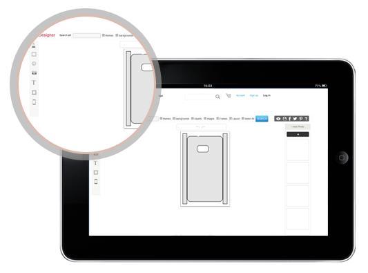 iPad Skin Design Tool