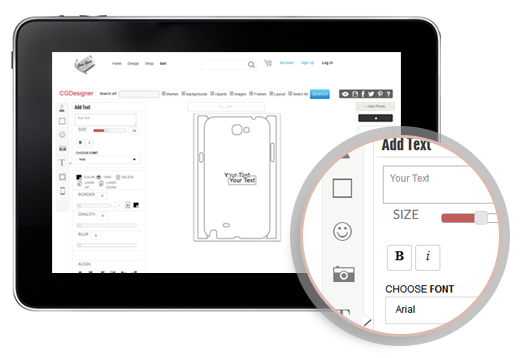 iPhone Case Design Tool