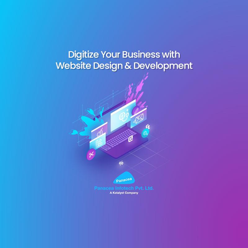 Digitize Your Business with Website Design & Development