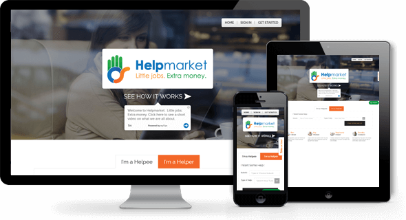 Helpmarket Application