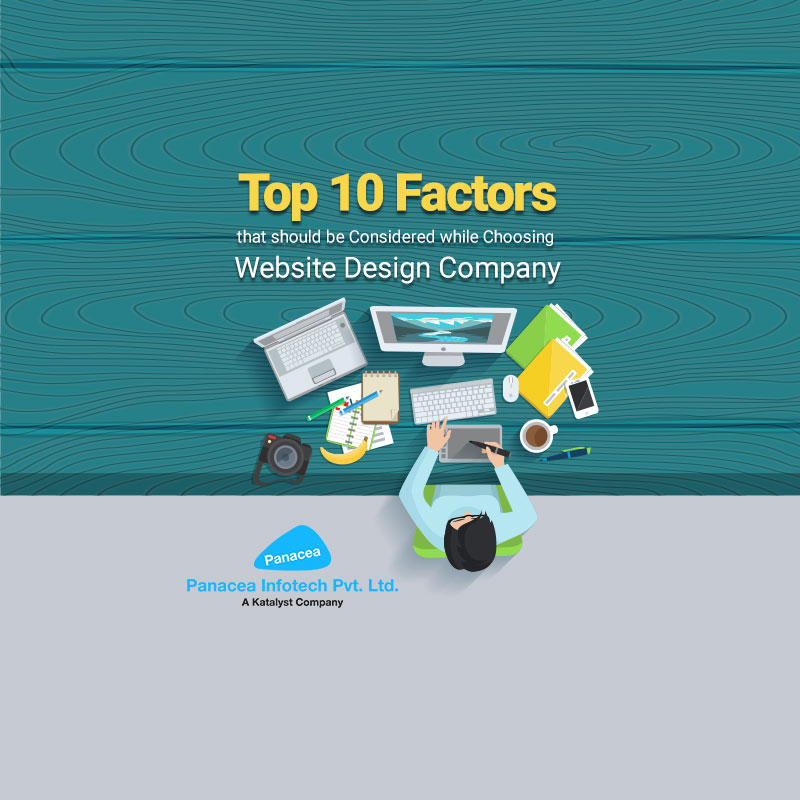 Top 10 Factors that should be Considered while Choosing Website Design Company