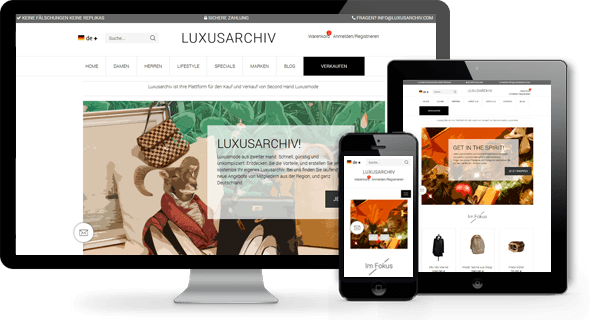 luxusarchiv multi vendor e-commerce platform