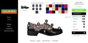 jubliabo - Platform for shoe customization