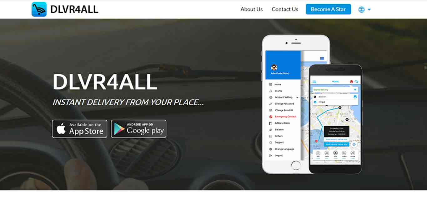 dlvr4all – instant delivery at any place