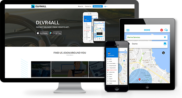 dlvr4all – Instant delivery from any place to any place