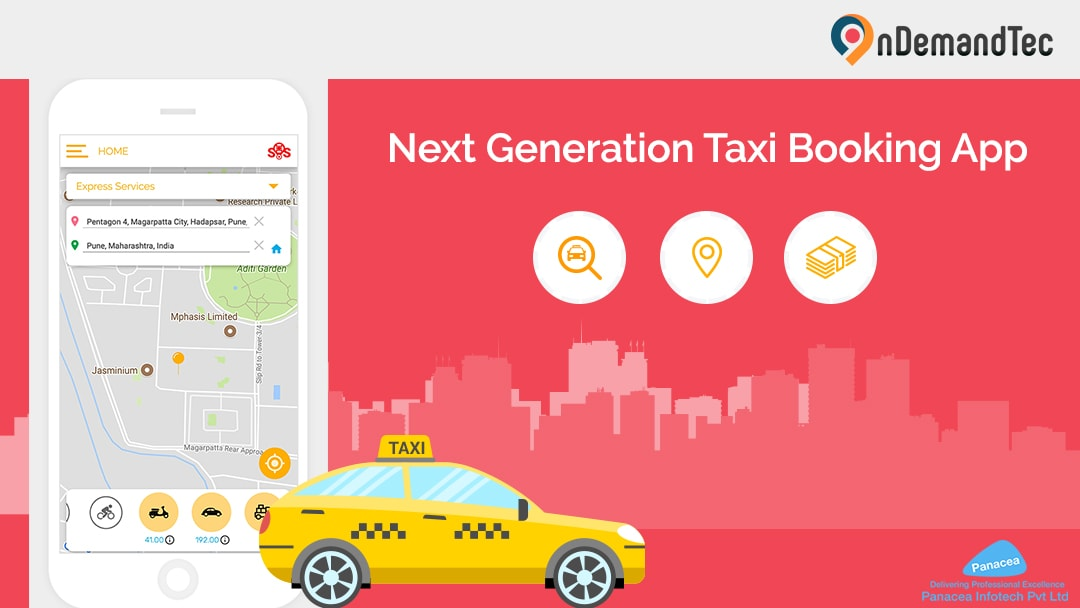 Online Taxi Booking App