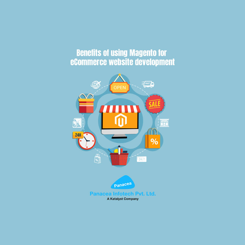 Benefits of using Magento for eCommerce website development