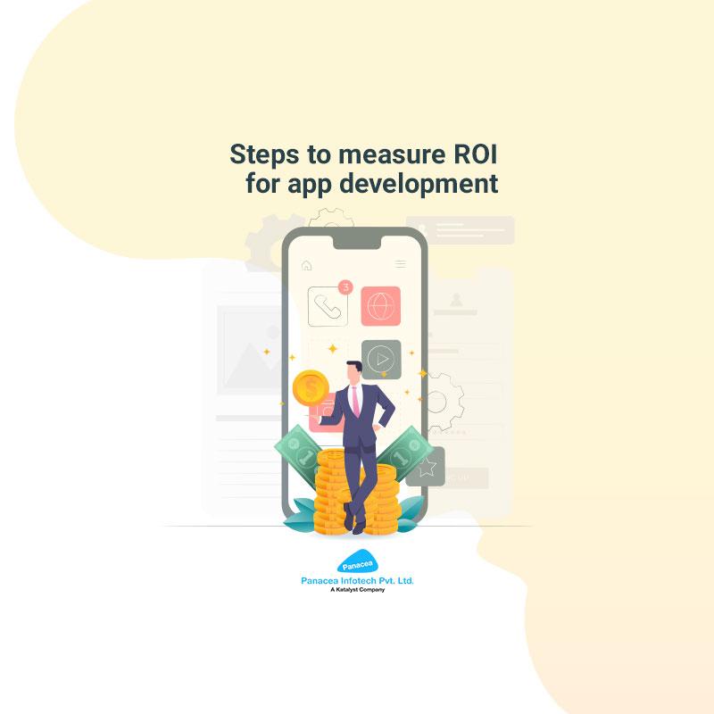 Steps to measure ROI for app development