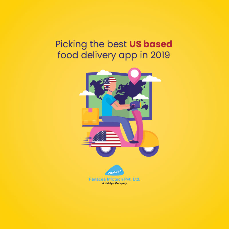 Picking the best US based food delivery app in 2019