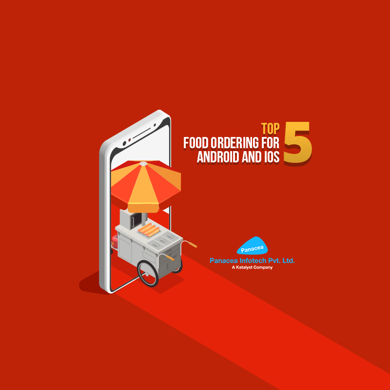 Top 5 food ordering apps for iOS and Android