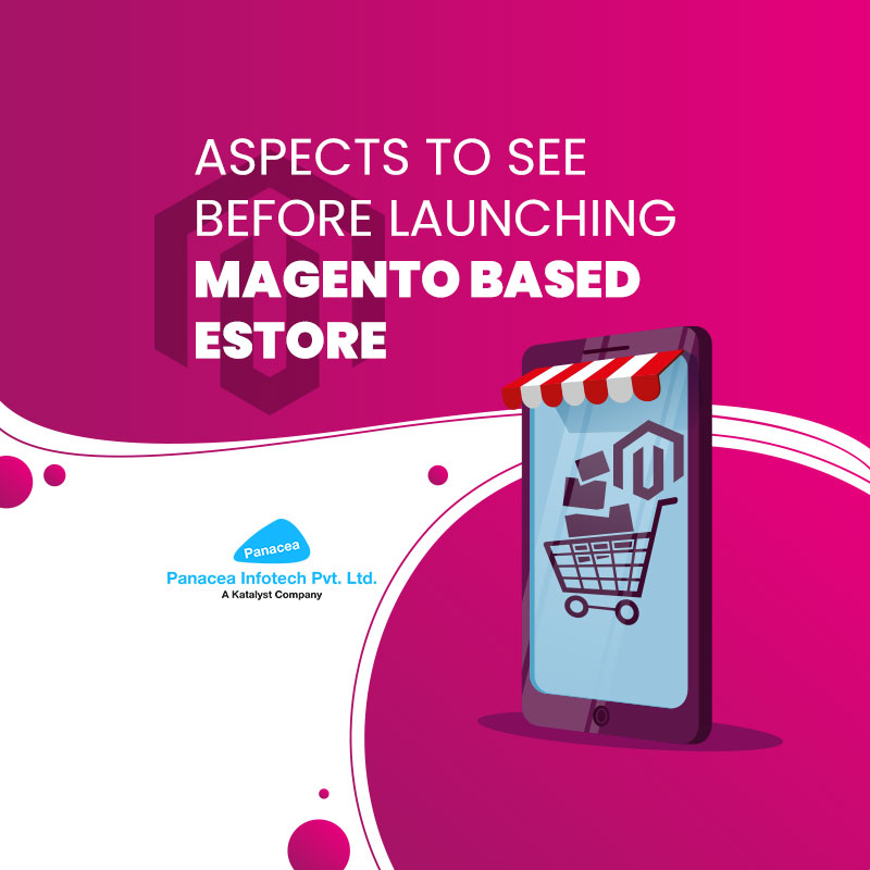 Aspects to see before launching Magento based eStore