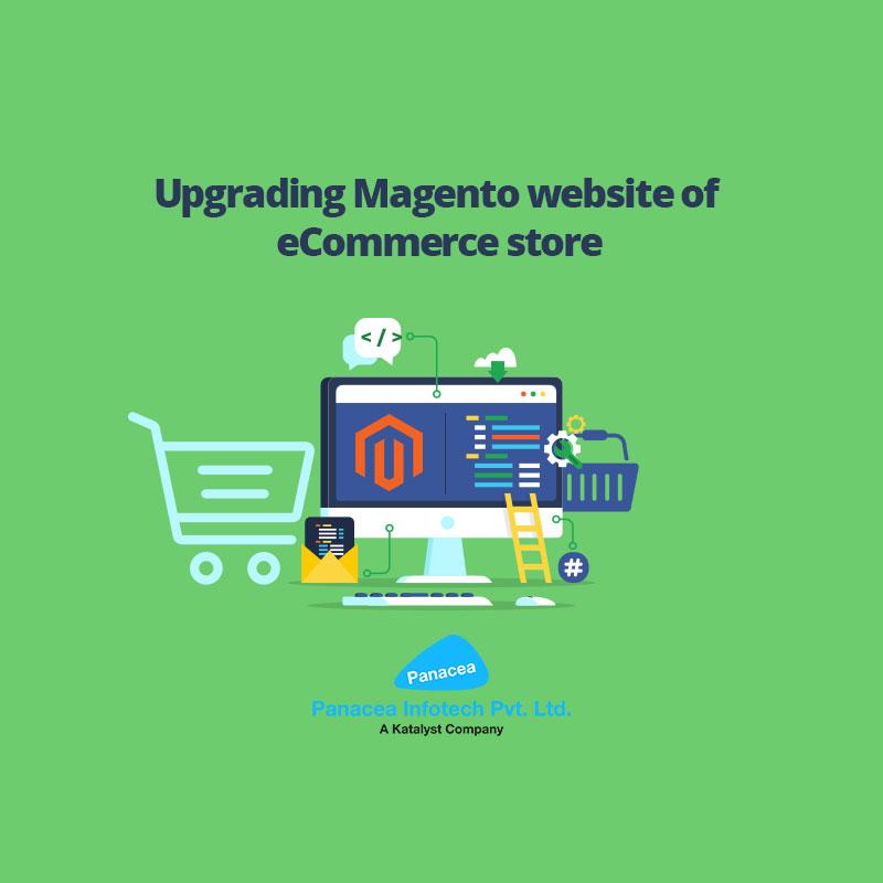 Upgrading-Magento-website-of-eCommerce-store