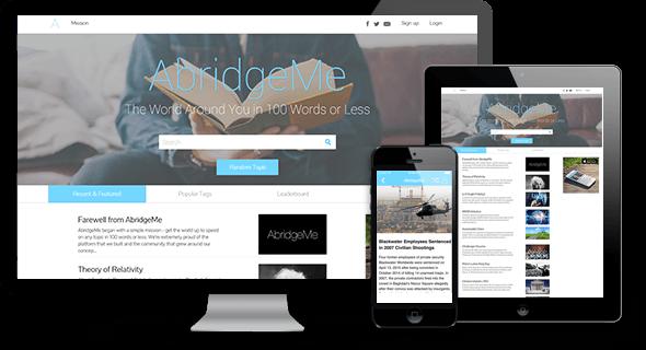 AbridgeMe App