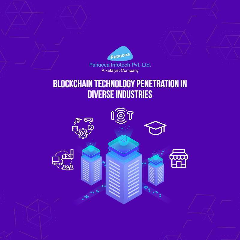 Blockchain Technology Penetration In Diverse Industries