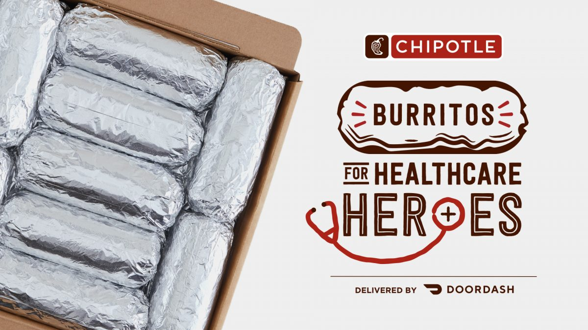 Chipotle Thanks Healthcare Heroes by offering Free Delivery