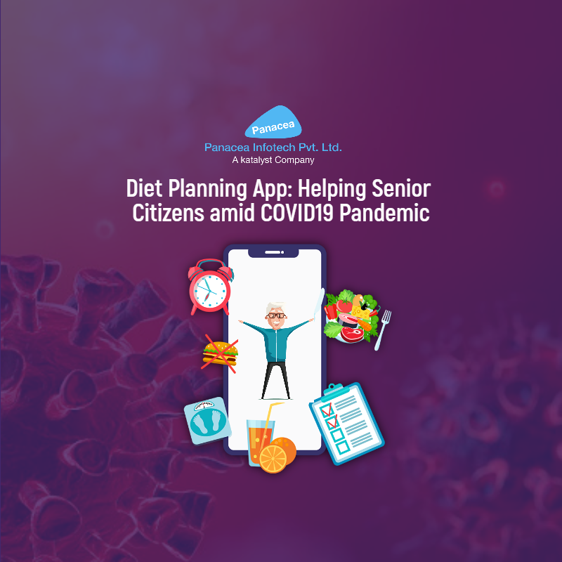 Diet Planning App: Helping Senior Citizens amid COVID19 Pandemic